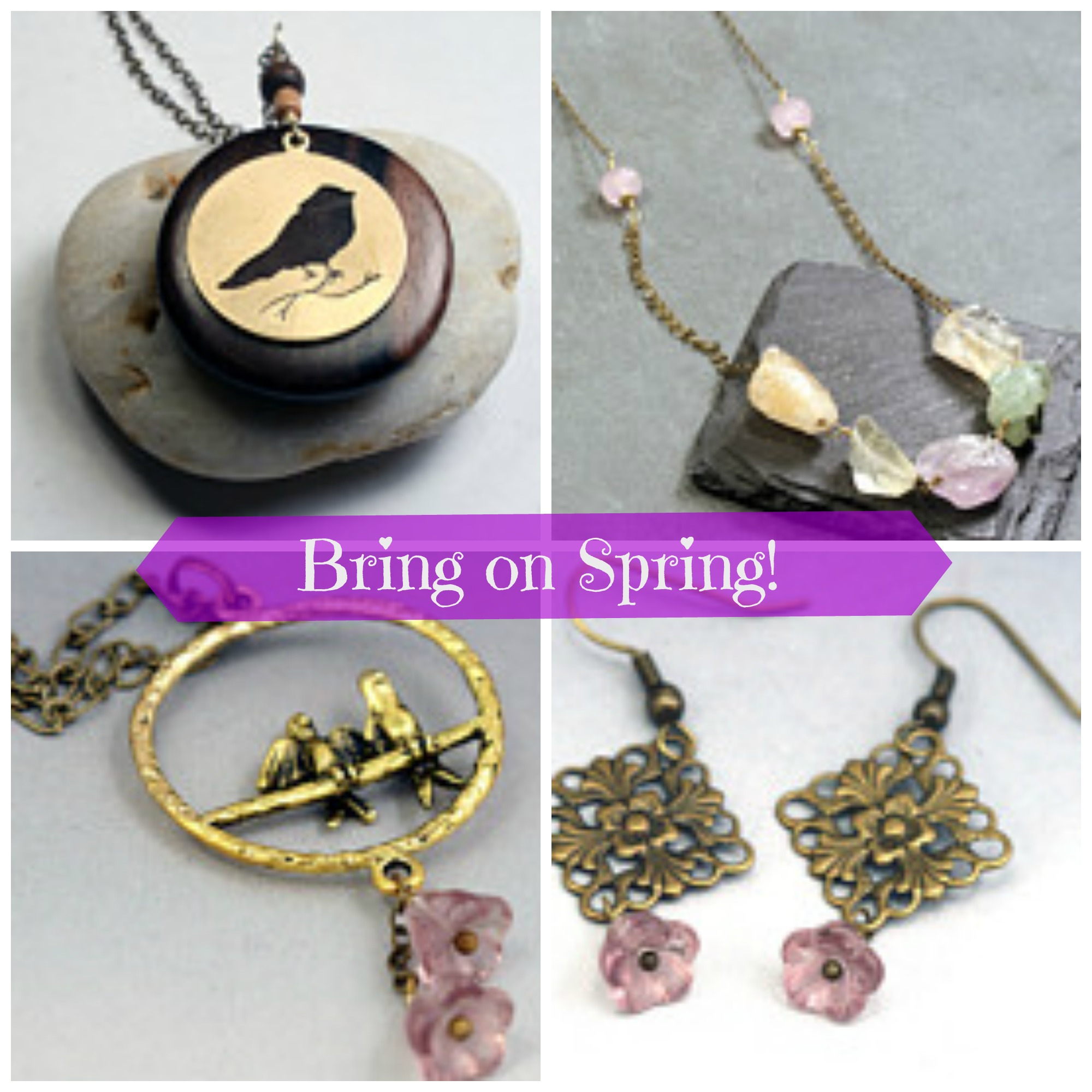 Bring on the Spring Jewelry